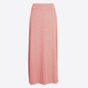 Jcrew Striped Knit Maxi Skirt